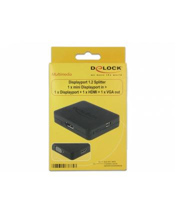 DeLOCK DP > DP HDMI+VGA+ mUSB
