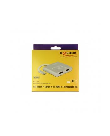 DeLOCK Type-C > HDMI + DP 4K - Splitter 30hz