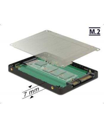 DeLOCK 2.5 converter SATA 22Pin> M.2