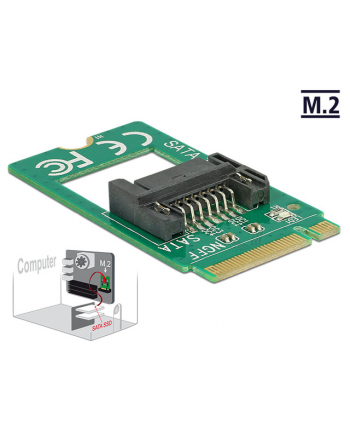 DeLOCK Adapter Key B -> SATA 7