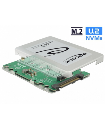 DeLOCK Adapter U.2 SFF-8639 > M.2 NVMe Key M