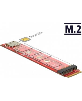 DeLOCK Key M St>Key M Slot+Nano SIM