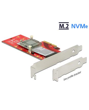 DeLOCK PCIe>1x 110mm w. heatsink - Profile