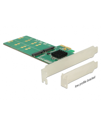 DeLOCK PCIe x2>4x M2 B Profile - form factor