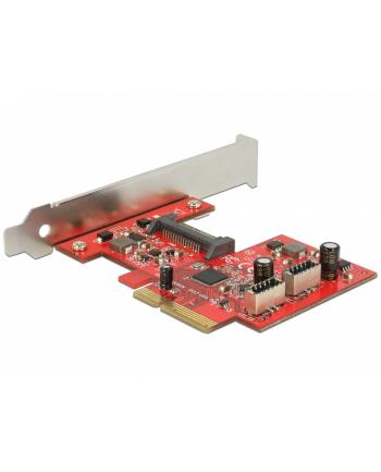 DeLOCK PCIe>2x 3.1 Gen2 A blue