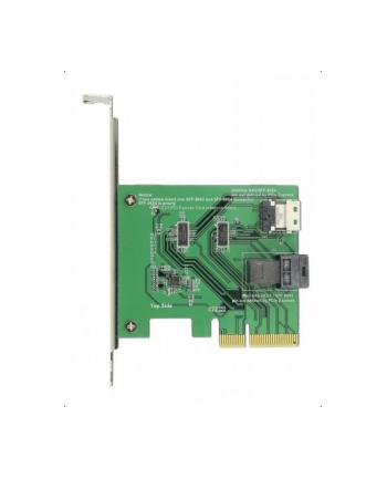 DeLOCK PCIe x4 NVMe-1xSFF-8654 4i 1 x intern SFF-8643 LP