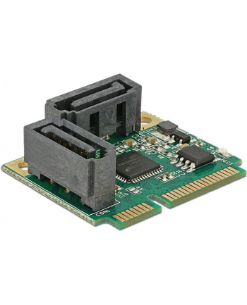 DeLOCK miniPCle PCle SATA 2x plug
