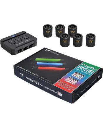 Thermaltake Pacific RGB G1 / 4 PETG Tube 16mm black - Pack of 6 16mm / 12mm