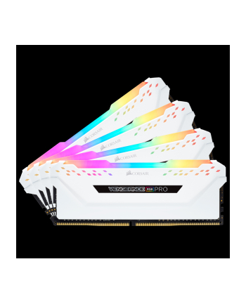 Corsair DDR4 64 GB 2666-CL16 - Quad-Kit - Vengeance RGB PRO White