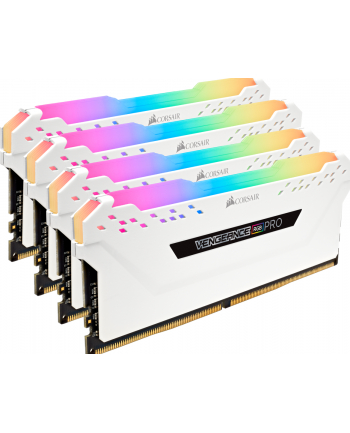 Corsair DDR4 64 GB 3200-CL16 - Quad-Kit - Vengeance RGB PRO White