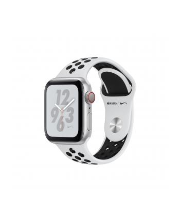 Apple Watch 4 Nike + 40mm + - silver/black - MTX62FD/A