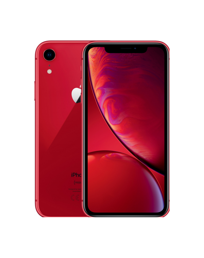 Apple iPhone XR 64GB - RED - MRY62ZD/A główny