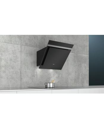 Okap Siemens LC67KHM60 | iQ300 60 cm Czarne szkło Stal