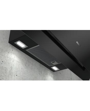 Okap Siemens LC87KHM60 | iQ300 80 cm Czarne szkło Stal