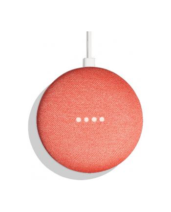 Google Home Mini - WiFi - Google Assistant - coral