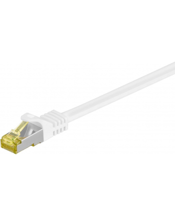 goobay Patch cable SFTP m.Cat7 white 3,00m - LSZH