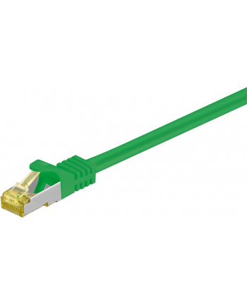 goobay Patch cable SFTP m.Cat7 green 1,00m - LSZH