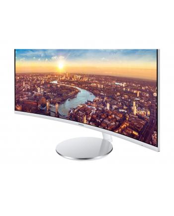 Samsung C34J791 - 34 - LED Monitor - White, Curved, DisplayPort, HDMI, Thunderbolt