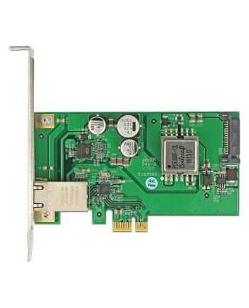 DeLOCK PCIe x1 IOI > LAN 1x RJ45 PoE+
