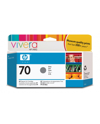 Tusz HP 70 grey Vivera | 130ml | photosmartproB9180,designjetZ2100/Z3100