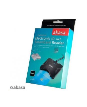 Akasa Czytnik kart pamięci, Extreme USB SMART, electronic ID