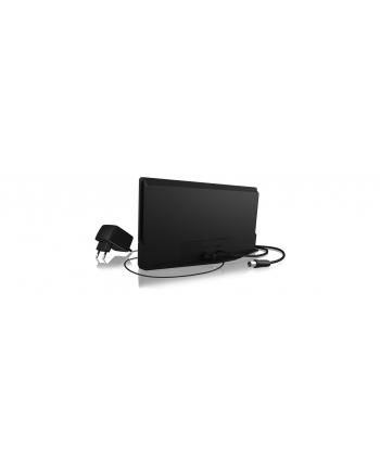 IcyBox Antena pokojowa DVB-T2 HD , HDTV, DVB-T, DVB-T2, DAB+, FM Radio, 4K