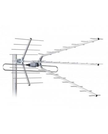 LIBOX Antena kierunkowa DVB-T ze wzmacniaczem sygnału Combo LB2100W |VHF,UHF,LTE