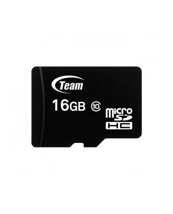 Team Group Karta Pamięci Micro SDHC 16GB Class 10 +Adapter
