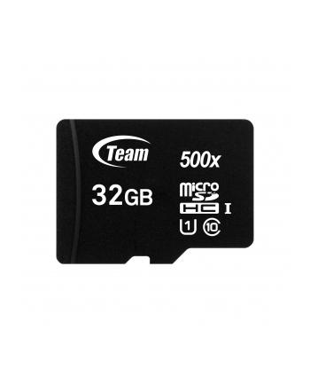Team Group Karta Pamięci Micro SDHC 32GB UHS-I +Adapter