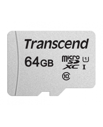 Memory card Transcend microSDHC USD300S 64GB CL10 UHS-I U3 Up to 95MB/S