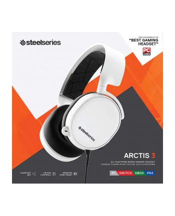 Steel Series SteelSeries Słuchawki Arctis 3 (Edycja 2019) Białe