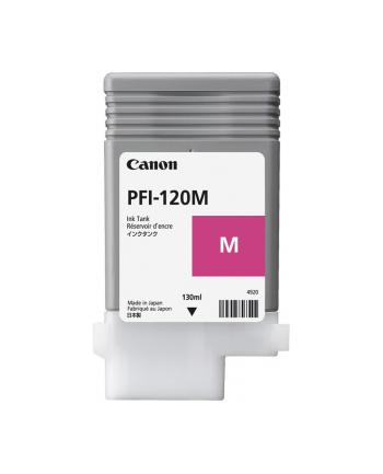 Tusz Canon PFI-120 M magenta | 130 ml | iPF TM-200/205