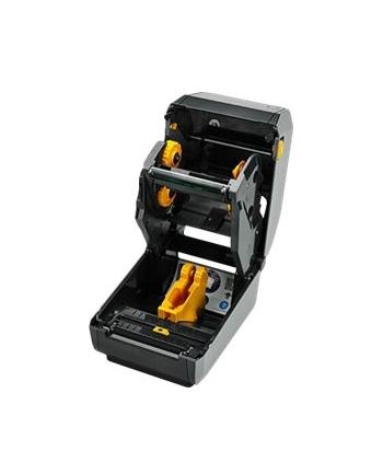 zebra TT Printer ZD620, LCD; Standard EZPL 203 dpi, EU and UK Cords, USB, Serial, LAN
