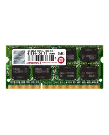 Transcend SODIMM, 4GB, 1600MHz, DDR3L, CL11 2Rx8