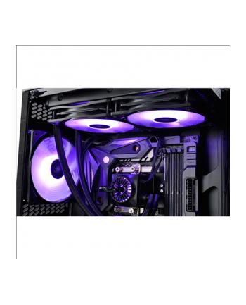 Deepcool zestaw wentylatorów 120mm RF 120 -3IN1 czarno-biały z RGB x3, kontroler