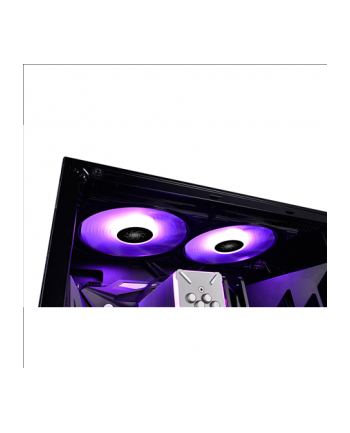 Deepcool wentylator 140mm RF czarno-biały z RGB