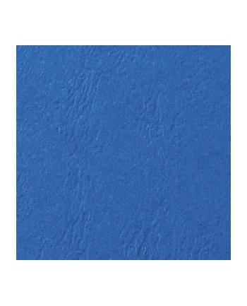 gbc Okładki do bindowania LeatherGrain skóropodobne, A4,250mic, niebieskie, 100 szt.