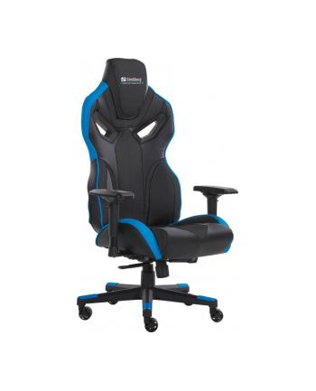 Sandberg fotel gamingowy Voodoo czarny/niebieski