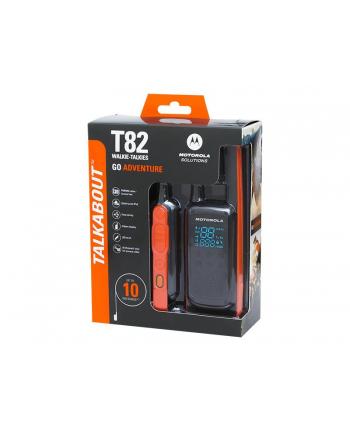 Motorola T82 Extreme Krótkofalówka, (Walkie-Talkie), 10 km, Czarny