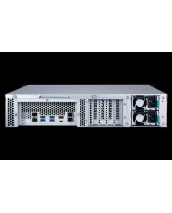QNAP 12-Bay TurboNAS, AMD Ryzen 4C 3,1GHz, 4GB, 2xGbE LAN, 2x10Gb SFP+, RPS