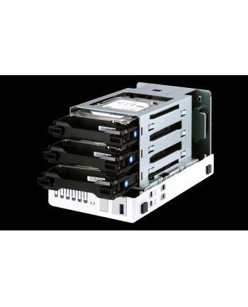 QNAP 3-Bay TurboNAS, Intel Celeron 2C 2,41 GHz, 2GB RAM, 1x1GbE, 1xUSB 3.0
