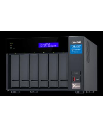 qnap 6-Bay NAS, 8GB DDR4 RAM, Intel i3 4C 3,1GHz, 2xM.2, 1x10Gb LAN, 2x1Gb LAN