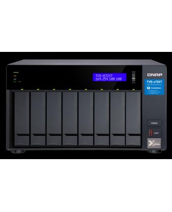 qnap 8-Bay NAS, 16GB DDR4 RAM, Intel i5 6C 1,7GHz, 2xM.2, 1x10Gb LAN, 2x1Gb LAN