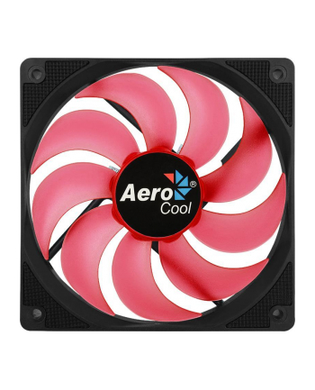 AEROCOOL MOTION 12 PLUS RED Wentylator 120x120x25mm
