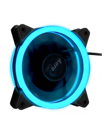 AEROCOOL REV RGB Ready DUAL RING LED Wentylator 120x120x25mm