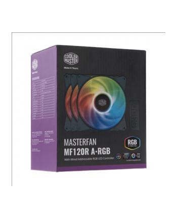 cooler master europe b.v. Cooler Master wentylator do obudowy MasterFan MF120R ARGB 3w1