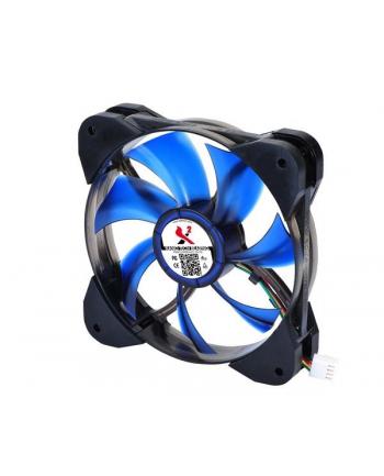 X2 wentylator do obudowy - X2.120 NANO BLUE LED