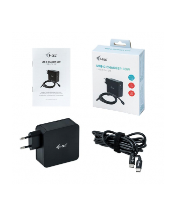 itec i-tec USB-C Charger C60W + USB-A Port 12W