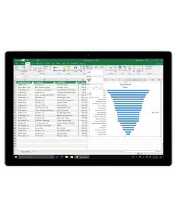 Microsoft Office 2019 Home and Student (wersja PKC) / język podstawowy francuski ( opcja zmiany na dowolny)