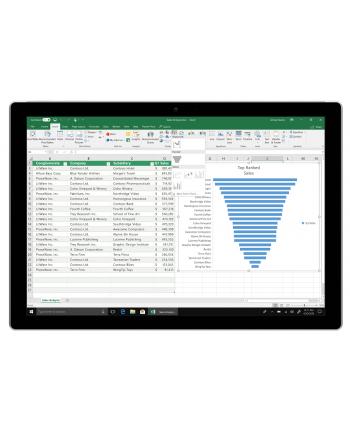 Microsoft Office 2019 Home and Business (wersja PKC) / język podstawowy francuski ( opcja zmiany na dowolny)